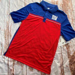 New York Giants Mens Polo style shirt size Medium